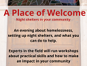 A place of welcome poster snip