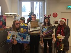 The Christmas Pact.Presents For Prisoner S Children Caritas Westminster